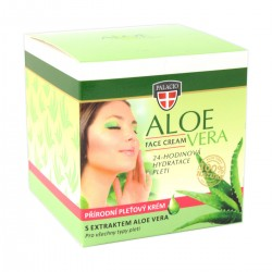 ALOE VERA Face Cream Crystal Jar 50ml