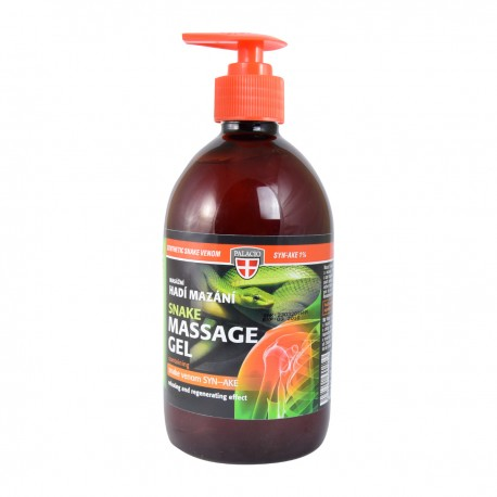 SNAKE VENOM Massage Gel with Pump 500ml