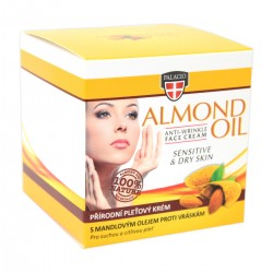 ALMOND Face Cream Crystal Jar 50ml